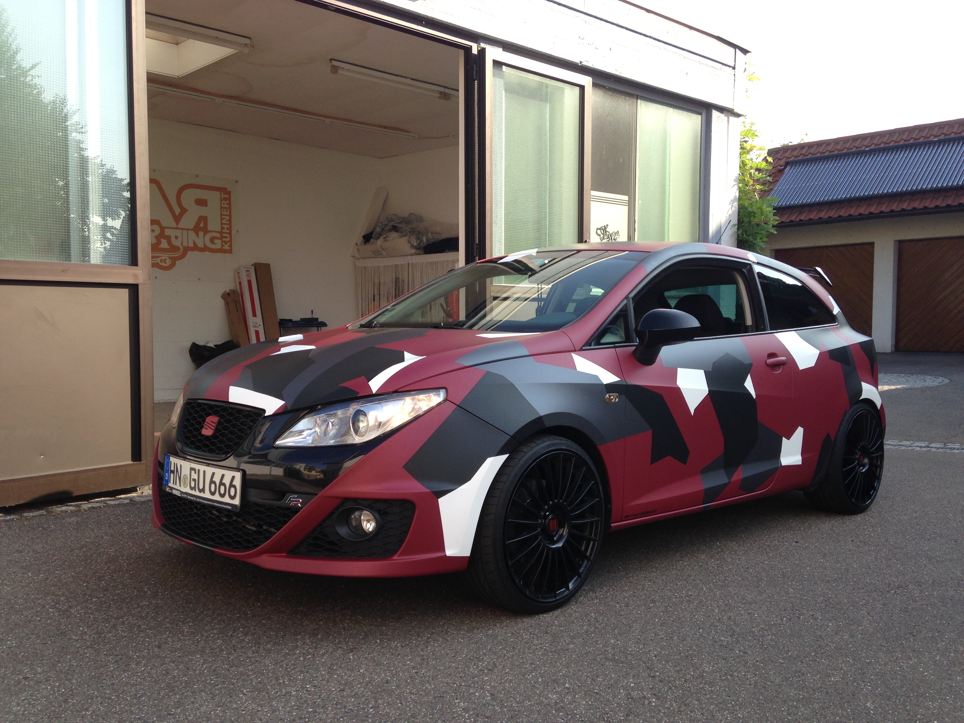 Seat Car Wrapping Kuhnert